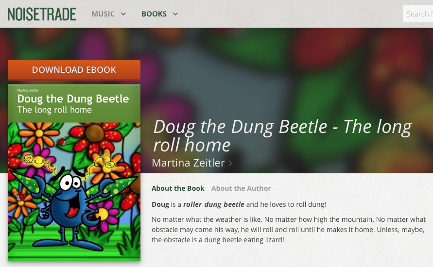 NoiseTrade Doug Dung Beetle Promotion